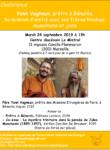 Conférence avec le Père Yann Vagneux